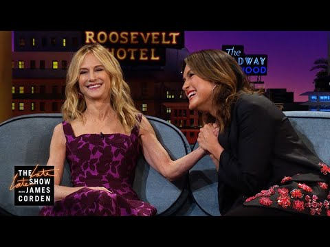 Mariska Hargitay & Holly Hunter Are True New Yorkers