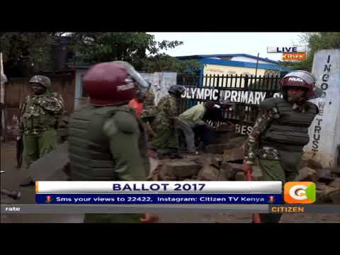 Heavy security presence in Migori and Kibera