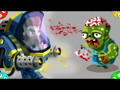 🐾 ВТОРЖЕНИЕ ЗОМБЯКОВ. #2 Защита поселения в игре Zombie Incursion. Flash games kids