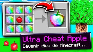 Minecraft MAIS je peux craft des pommes ULTRA CHEAT !