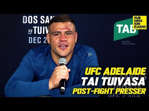 Tai Tuivasa Goes Off On Justin Willis After Junior Dos Santos Fight | UFC ADELAIDE