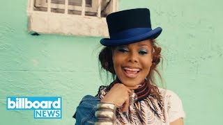 Janet Jackson & Daddy Yankee Break It Down in 'Made For Now' Music Video | Billboard News