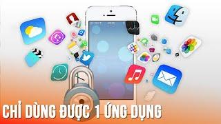 Khóa ứng dụng khi cho người khác mượn Iphone - Simple tip to lock apps before someone borrow iPhone!