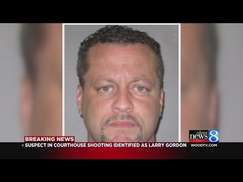 Courthouse shooter identified as Larry Gordon