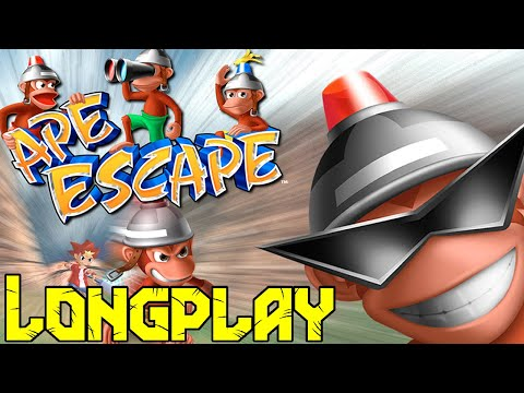 Ape Escape LongPlay - Monklet [Twitch Vod]