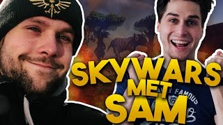 TOEVALLIG TEGEN ANDERE YOUTUBER?! - TEAM SKYWARS MET SAM