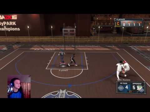PLAYING WITH SUBS!  1K SUB GRIND!   NBA 2K17 MY PARK GRIND!    SS1 GRIND!