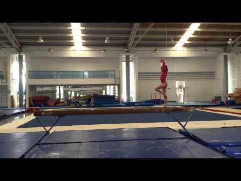 Age Group Programme – Women's Artistic Balance Beam - High Performance Compulsory 2