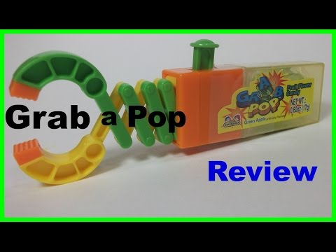 Grab - A - Pop, Toy, Candy, Fun,