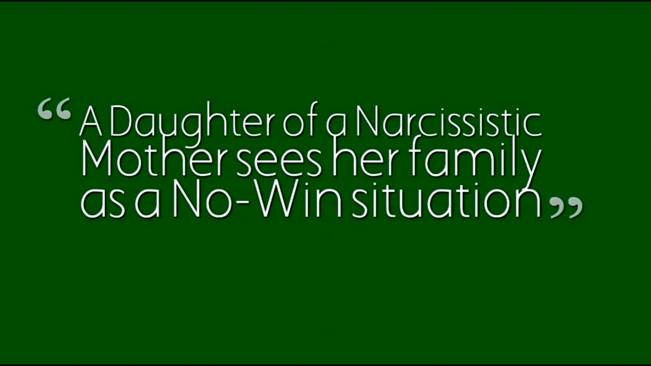 Dealing with a narcissistic wife