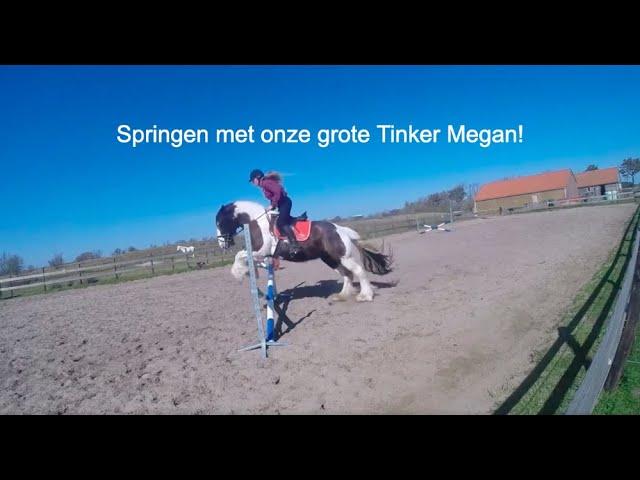 Springen met Megan