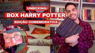 UNBOXING: BOX HARRY POTTER (Edição comemorativa de 20 anos)