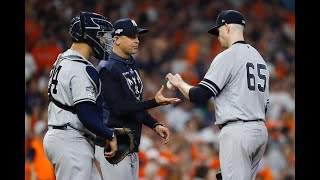ALCS Game 2: Yankees' Aaron Boone's mistakes
