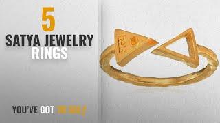 10 Best Satya Jewelry Design Rings: Satya Jewelry