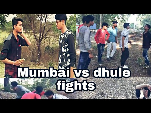 mumbai vs dhule funny fight| fights in different cities