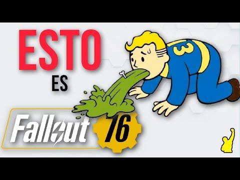 ESTO ES... FALLOUT 76   Fallout 76 es una mala broma y está completamente roto thumbnail