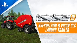 Farming Simulator 19 - Kverneland & Vicon DLC Launch Trailer | PS4