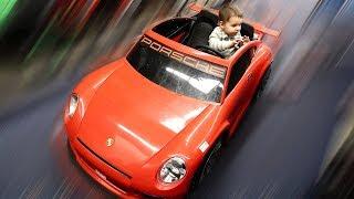 Twins Go Car Shopping at ToysRUs