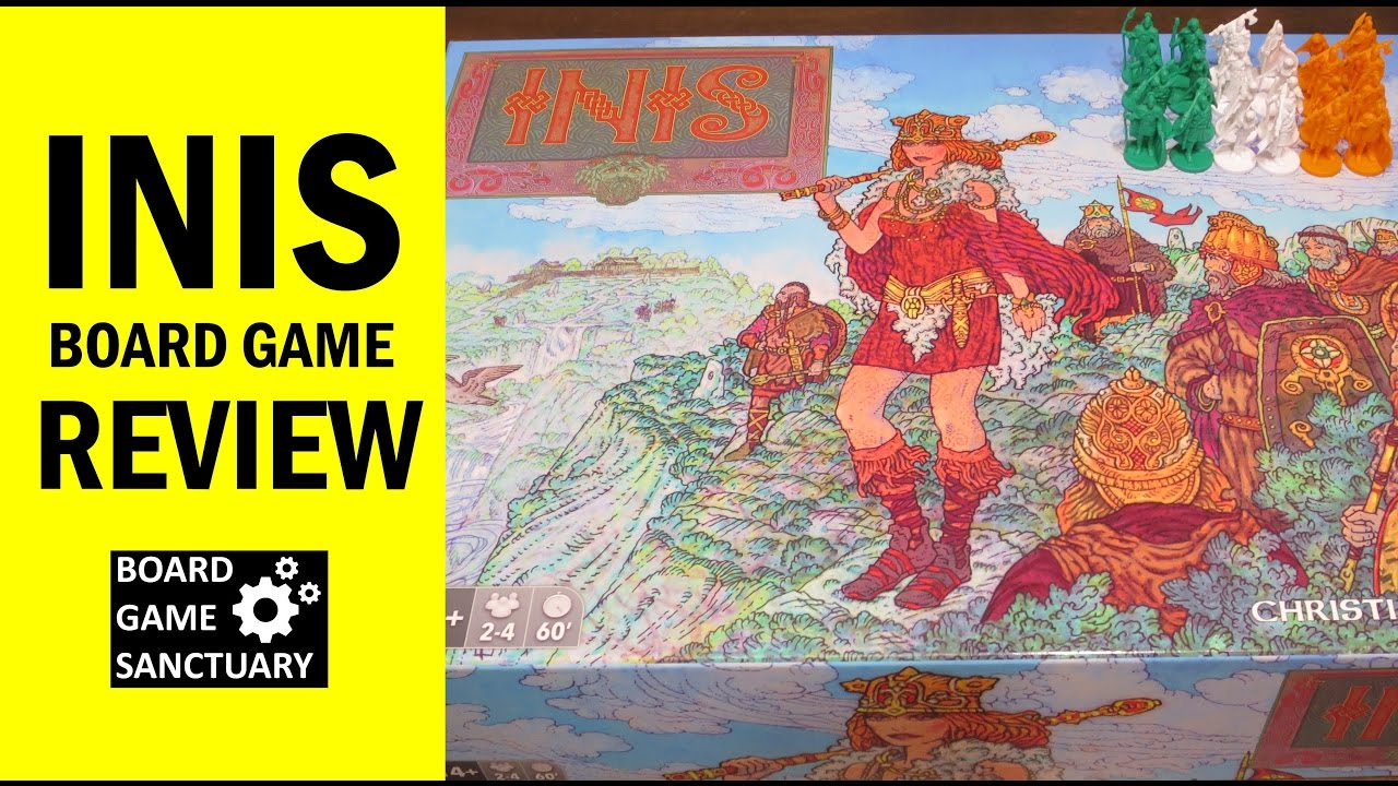 Inis Board Game Review & Runthrough - YouTube