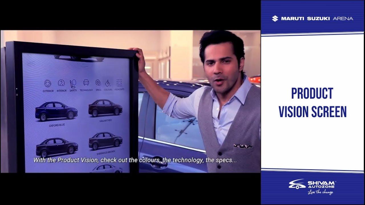 Maruti Suzuki Arena Showroom   Product Vision   Varun Dhawan   Shivam  Autozone   Mumbai