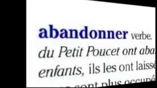 Французский видеословарь. Урок 1. Abandonner