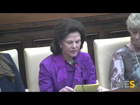 """HM Queen Silvia of Sweden 