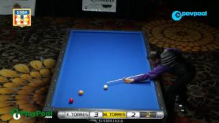 #7 • M. TORRES vs F. TORRES - 2017 USBA 3-Cushion National Championship thumbnail
