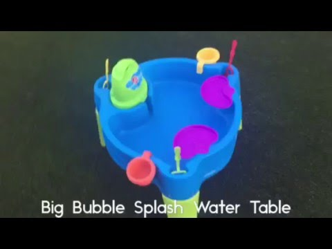 Bubble Mania: Step2 Big Bubble Splash Water Table Review