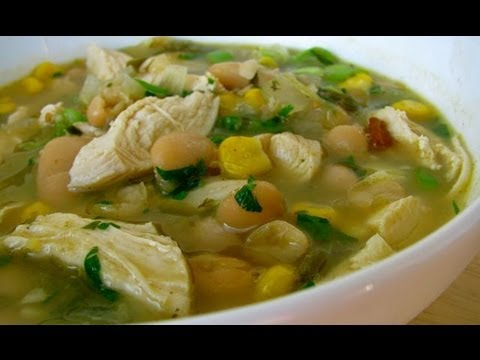 Chicken and White Bean Chili Recipe