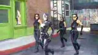 Catwoman at MovieWorld Theme Park