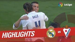 Resumen de Real Madrid vs SD Eibar (1-1)