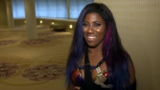Ember Moon discusses the first Women's Royal Rumble Match