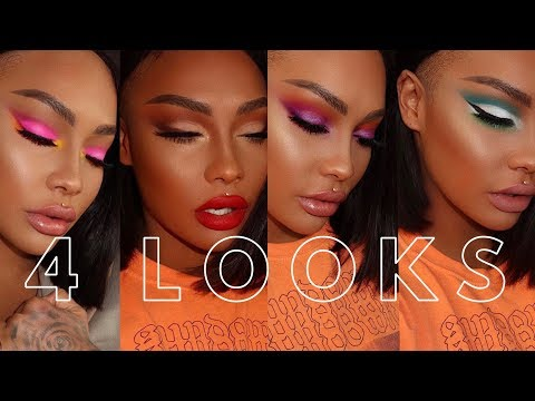 4 LOOKS JAMES CHARLES X MORPHE SISTER COLLECTION | SONJDRADELUXE thumbnail