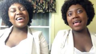 Gambar cover Beautiful! Talented twins sing Chandelier by Sia