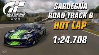 GT Sport Hot Lap // Daily Race B (03.02.20) Gr.4 // Sardegna Road Track B