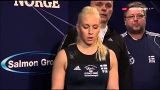 2016 European Weightlifting 63 kg