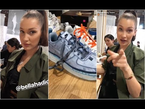 Karl Anthony Towns teases Bella Hadid because of her shoe design skills