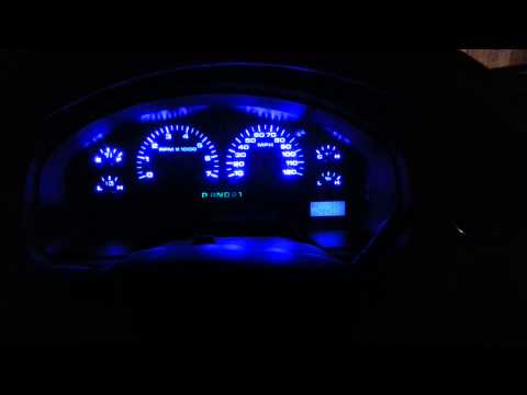 2005 Ford F150 Instrument Cluster Led Conversion