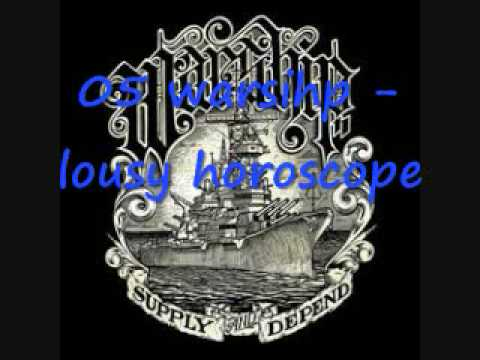 warship - lousy horoscope (ex from autumn to ashes) lyrics