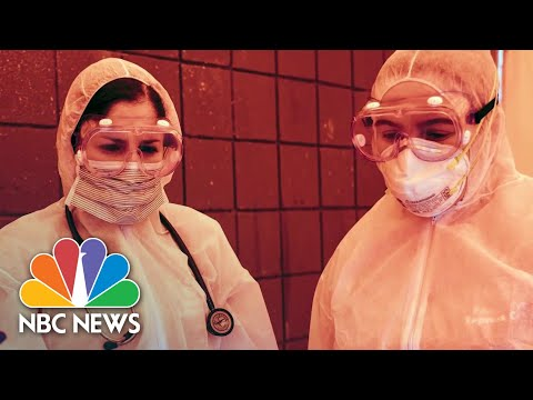 Health Care Heroes Share Video Diaries From The Front Lines Of COVID-19 Fight | NBC News NOW