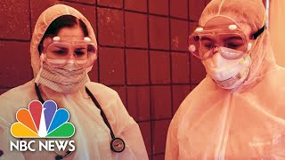 Health Care Heroes Share Video Diaries From The Front Lines Of COVID-19 Fight   NBC News NOW