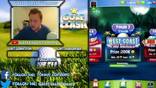 Golf Clash stream, Road to Glory - Episode 11 - Can we close up tour 7?
