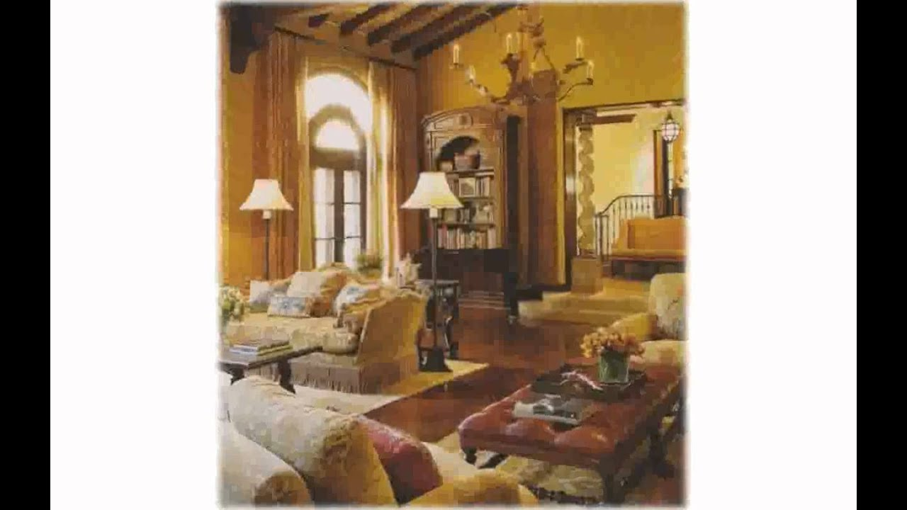 Tuscan Style Home Decor - YouTube