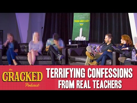 Terrifying Confessions from Real Teachers