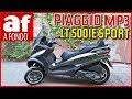 Piaggio MP3 LT 500ie Sport | Scooter 3 ruedas para el carnet de coche