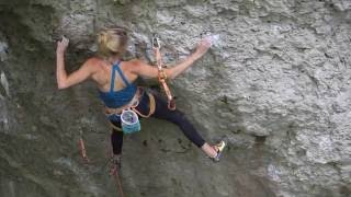 Frankenjura climbing - Battle Cat 8c+