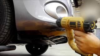 Tuto réparation pare-choc Av enfoncé Renault Kangoo/repair front bumper Renault Kangoo