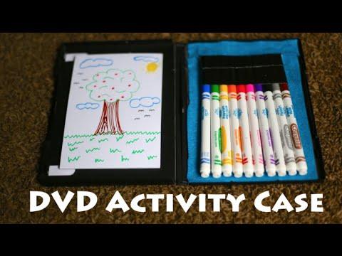 DVD Activity Case! Road Trip Art Kit! - YouTube