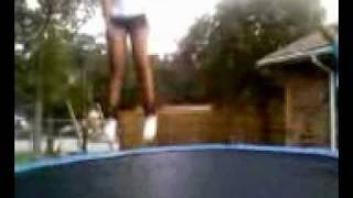 Aubreanna's Jumps Part 1 (Getting Warmed Up)