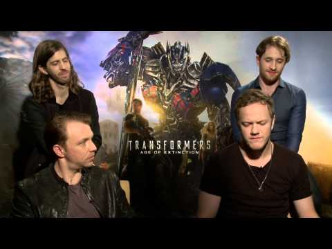 Transformers 4: Age of Extinction: Imagine Dragon Official Movie Interview